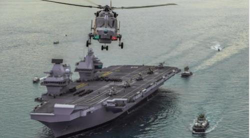 韓英海軍明在南韓東海實施聯合軍演