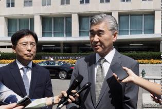韓美對朝代表共商對朝人道主義援助合作