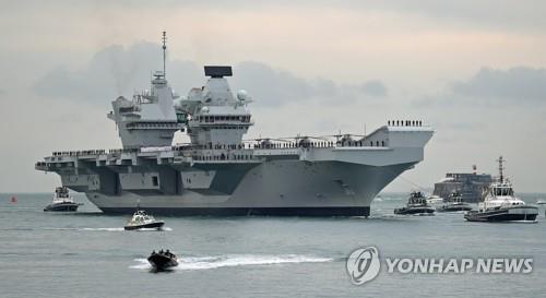 韓英在南韓東海實施搜救和機動演練