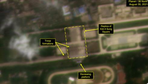 消息:朝鮮兵力集結平壤美林機場疑排練閱兵