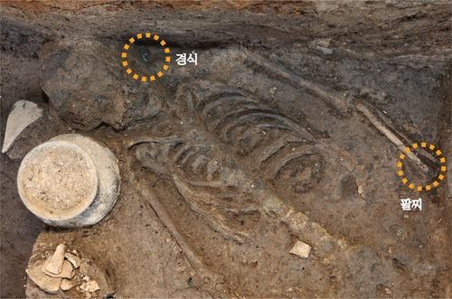 新羅王宮月城遺址發現人祭新證據