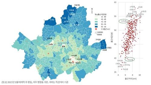 統計:首爾內外上班上學平均路程53分鐘