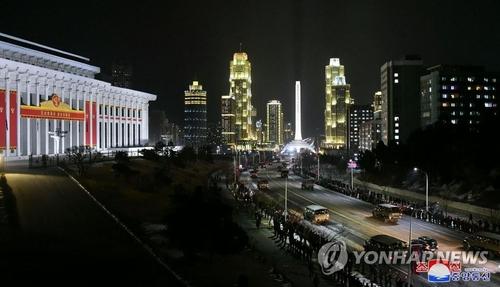 消息:朝鮮舉行閱兵式紀念建政73週年