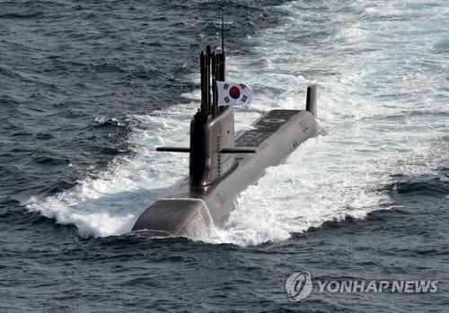 南韓3600噸潛艇開建 可裝10根導彈發射管
