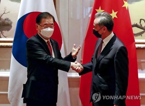 中國外長王毅今訪韓 明會晤韓外長鄭義溶