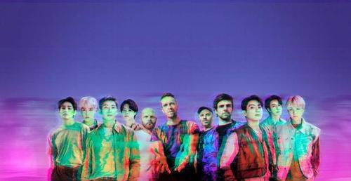 防彈少年團和酷玩樂隊24日發佈合作曲