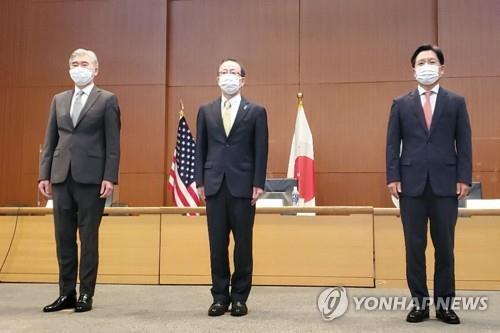 韓美日對朝代表在東京會晤