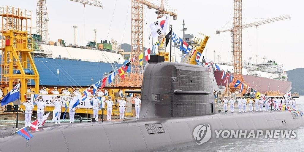 詳訊:韓潛艇成功試射自研潛射彈道導彈