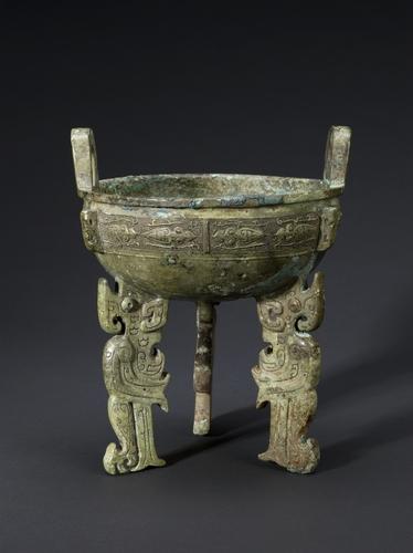 上海博物館藏青銅器 南韓國立中央博物館供圖(圖片嚴禁轉載複製)