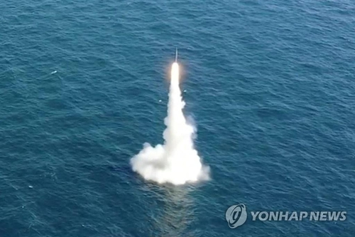 南韓防部就朝評韓軍潛射導彈試驗表態