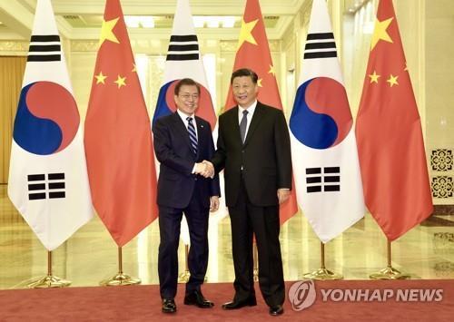 韓駐華使館:韓中領導人互訪取決於疫情形勢