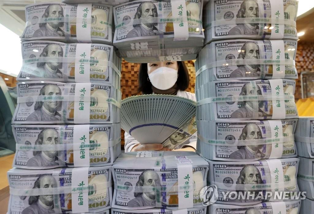 韓9月外儲近4640億美元再創新高