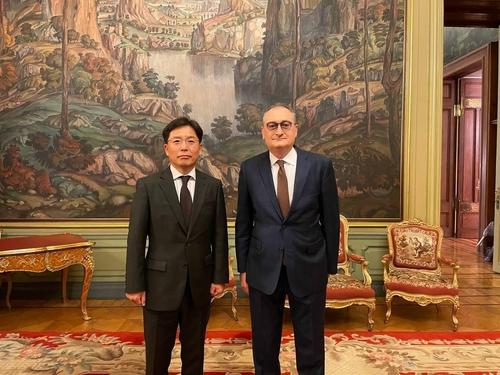 韓俄對朝代表在莫斯科舉行會談