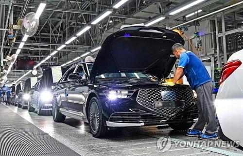韓第三季度整車產量創近13年新低