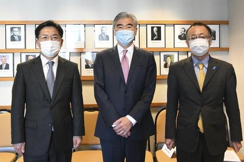 韓美日對朝代表商定儘早促朝重返對話