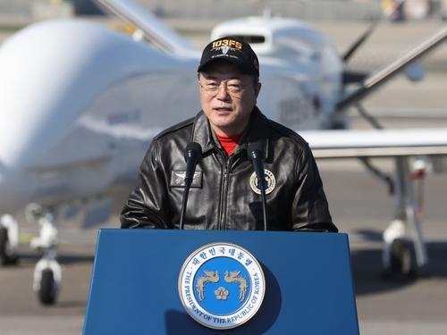 文在寅:將建設智慧強軍與世界攜手維護和平