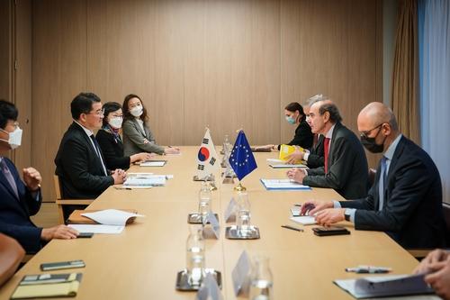 韓歐舉行副部級政治對話商討政策對接