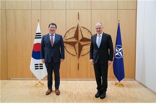 韓副外長在比利時會晤北約副秘書長