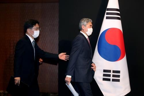 美對朝代表星·金:望與韓方就終戰宣言等構想合作
