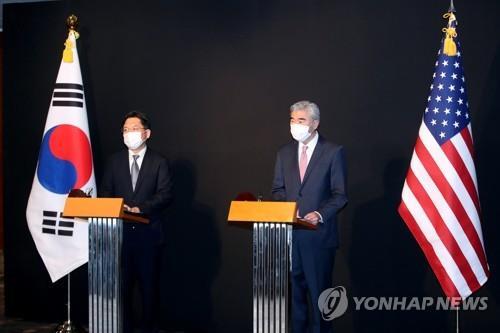 詳訊:韓美對朝代表會晤共商終戰宣言相關事宜