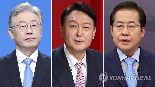 民調:韓總統人選兩強對決李在明領先尹錫悅