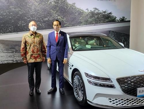 現代汽車會長鄭義宣:助力印尼構築電動車生態圈