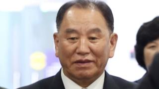 朝鮮高官金英哲抵京下午赴美