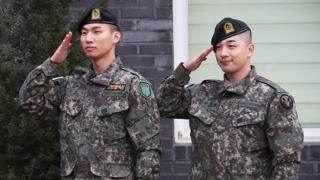 BIGBANG太陽大成退伍
