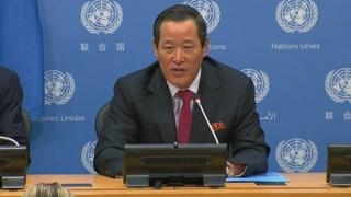 朝鮮常駐聯合國代表吁美國落實朝美聯合聲明