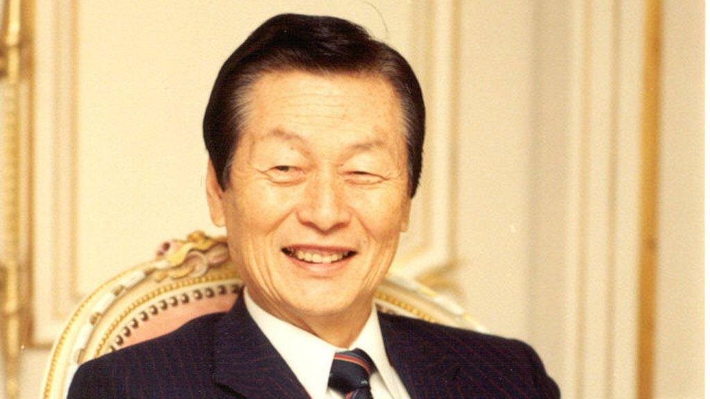 樂天集團創始人辛格浩去世
