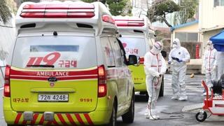 南韓感染新冠病毒確診病例1261例 死亡12例