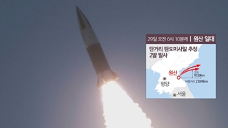 韓青瓦臺:密切關注朝鮮發射飛行器動向