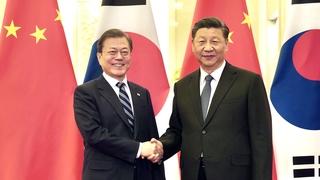 韓中領導人爭取習近平年內訪韓