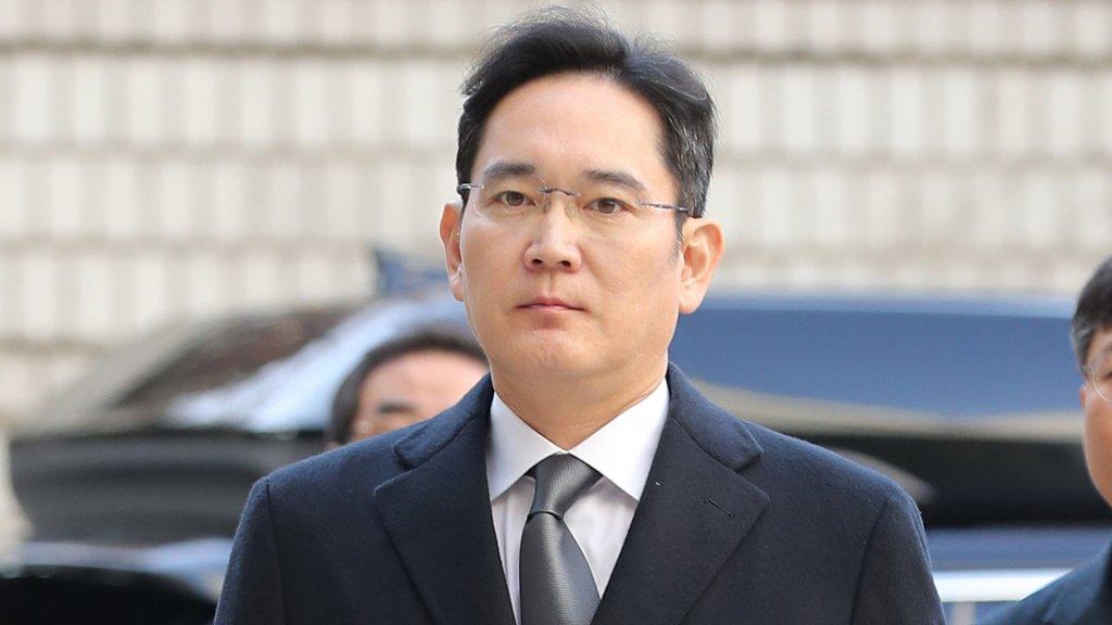 三星電子副會長李在鎔涉嫌違規接班被檢方傳訊