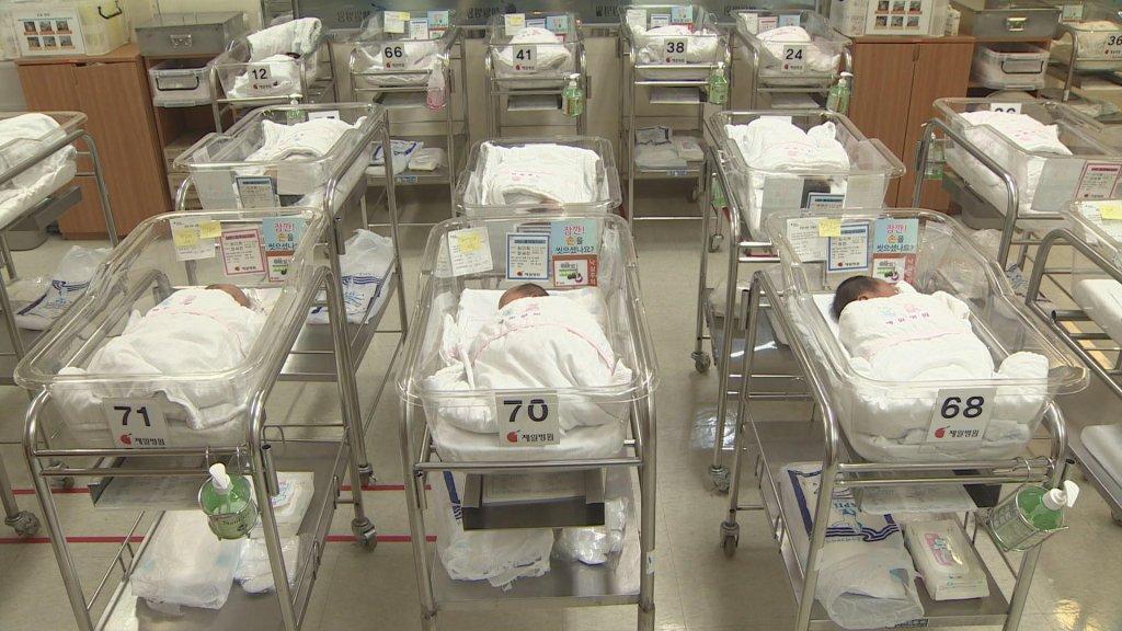 統計:韓3月出生率同比減少10%創同月新低