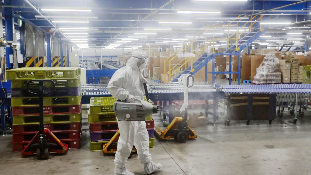 韓政府:電商物流中心相關新冠病例增至69例