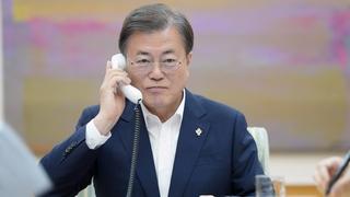 韓美領導人通電話商討七國集團峰會