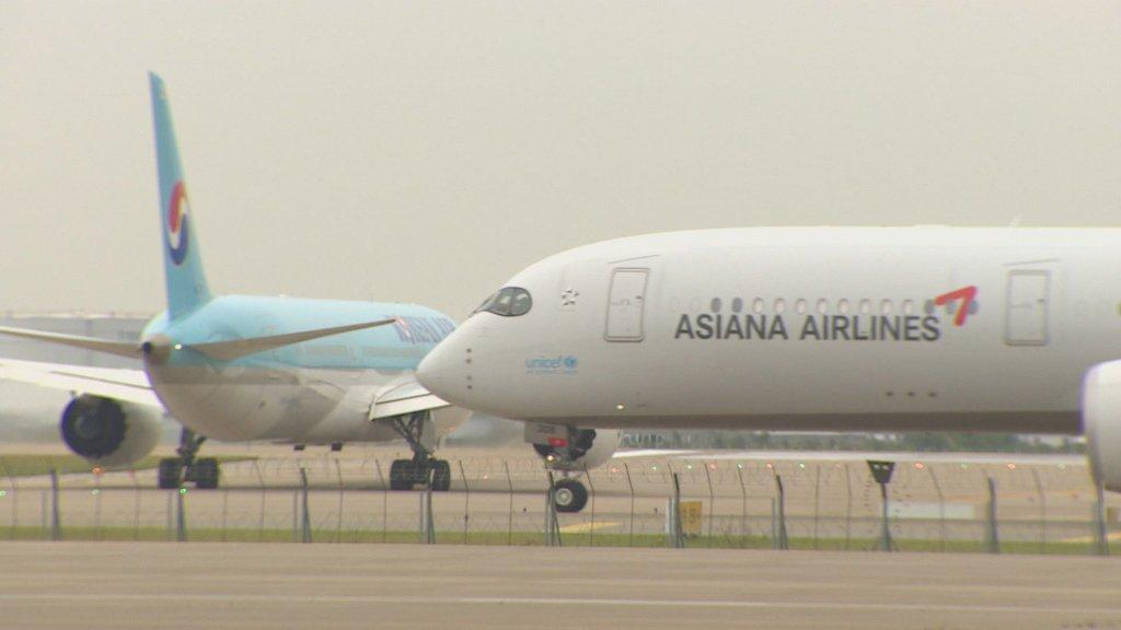 南韓航空公司7月恢復部分國際航班