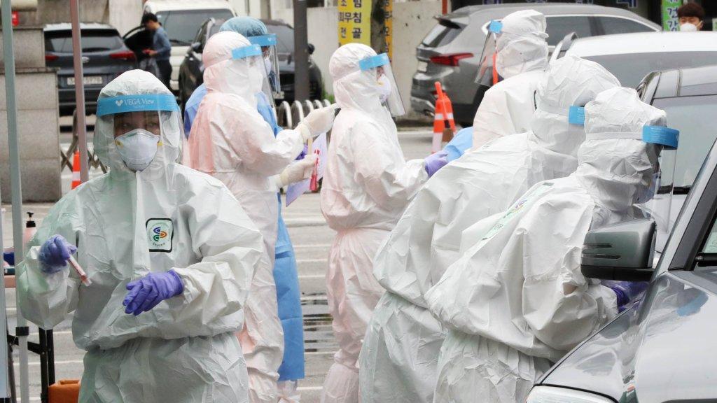 南韓新增48例新冠確診病例 累計13137例