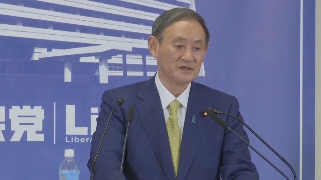 菅義偉回復文在寅賀函:韓日互為重要鄰邦