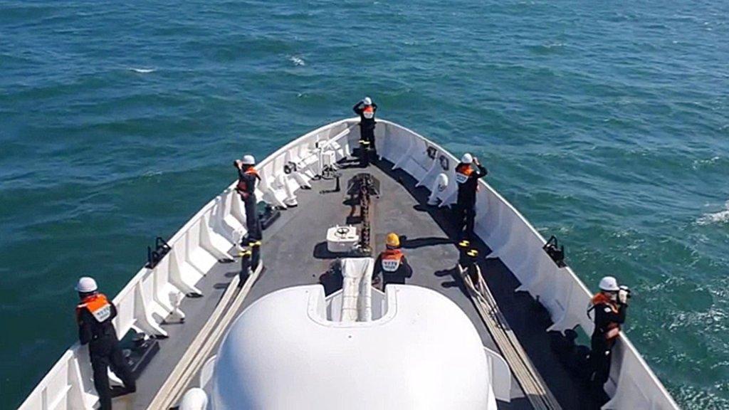 朝鮮警告韓方莫犯領海 計劃自行搜索歸還遺體