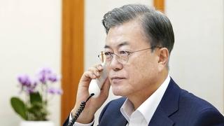 文在寅同三國首腦通話為世貿總幹事選舉拉票