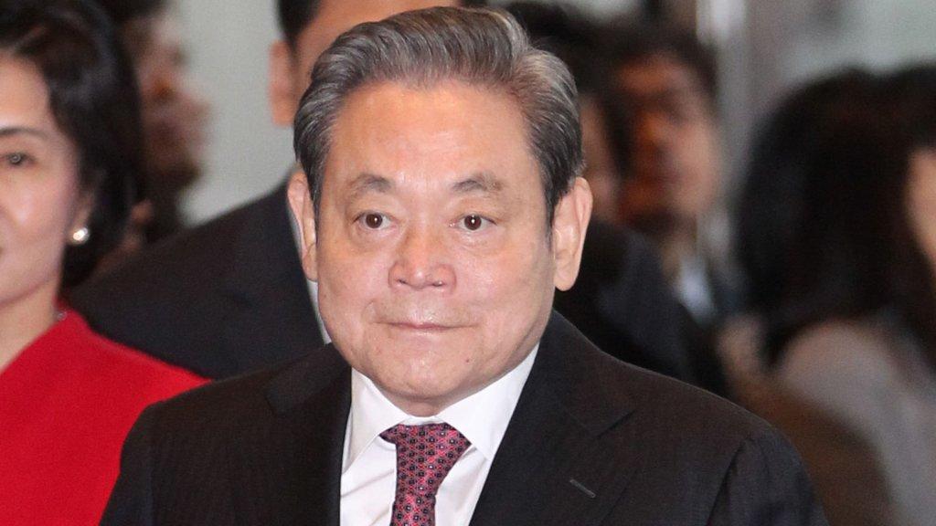 三星集團會長李健熙去世 享年78歲