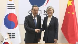 中國外長王毅今起訪韓