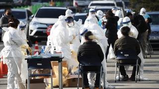 南韓新增583例新冠確診病例 累計32318例