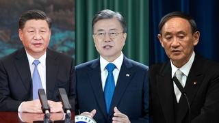 韓青瓦臺:韓中日領導人會議是否保留尚無定論