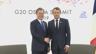 韓法元首通電話共商應對氣候變化合作方案