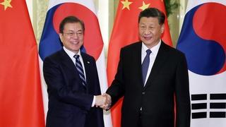 韓中元首商定為促成習近平訪韓保持溝通