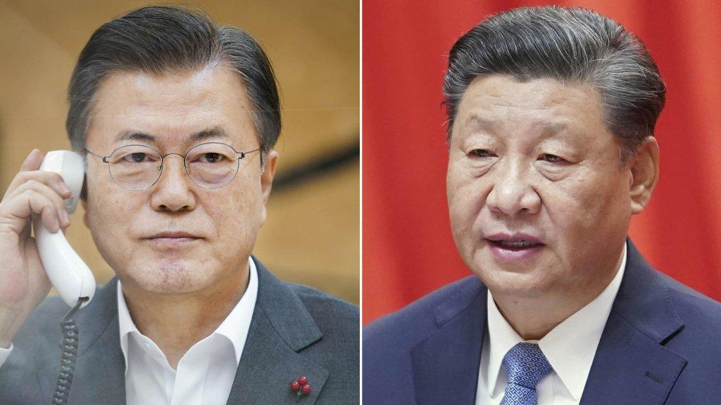 習近平表示支援韓方努力實現無核化