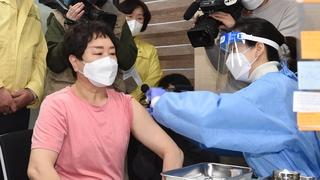 南韓正式啟動新冠疫苗接種工作